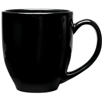 Corfu Ceramic Mug, Black