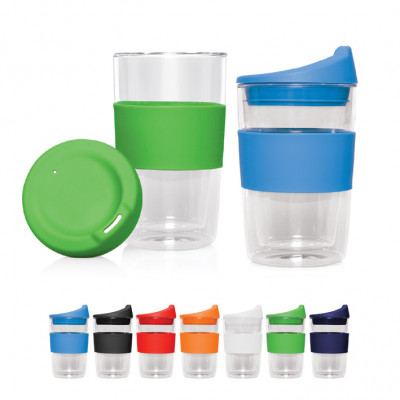Double Wall Glass Cup 2 Go - 300ml