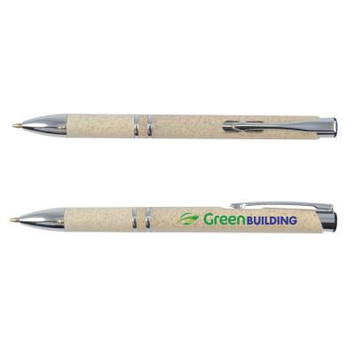 Eco Wheat Fibre Click Pen