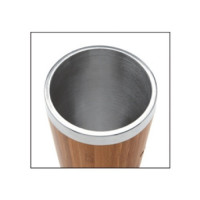 Bamboo and Stainless Steel Travel Mug