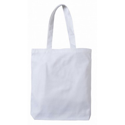 White Canvas Tote Bag