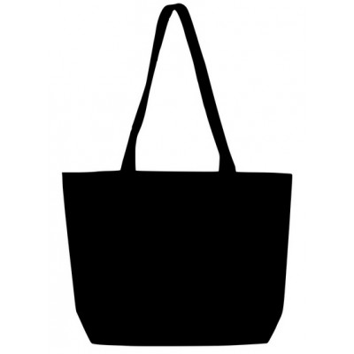 Canvas Market Bag (Black)