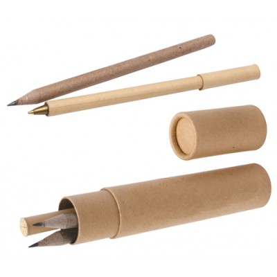 Eco Pen and Pencils Writing Set