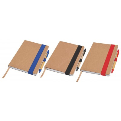 EcoNatural Notebook Small with pen