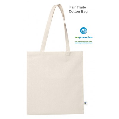FairTrade Natural Cotton Shoulder Bag