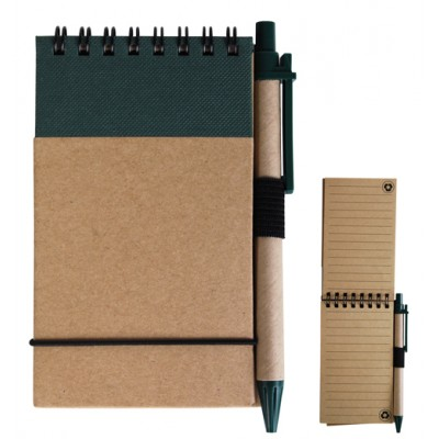 Budget Flip Notebook with pen