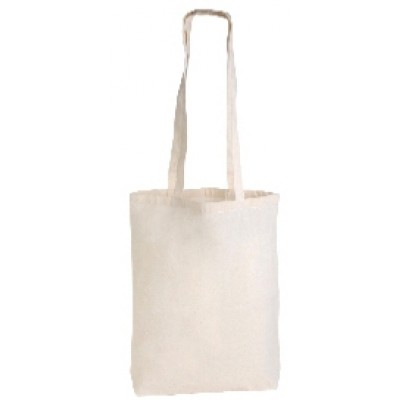 Calico Conference Bag with Long Handles