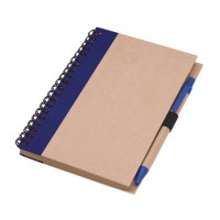 Nature Recycled Notebook with pen