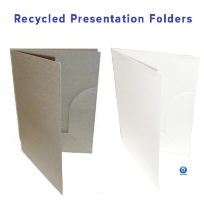 Custom Recycled Presentation Folders