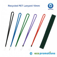 Recycled PET Lanyard 10mm