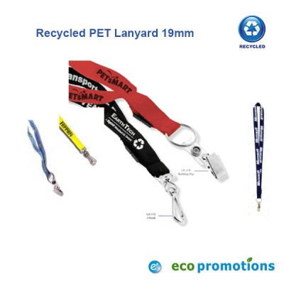 Recycled PET Lanyard 19mm (Fast Track)