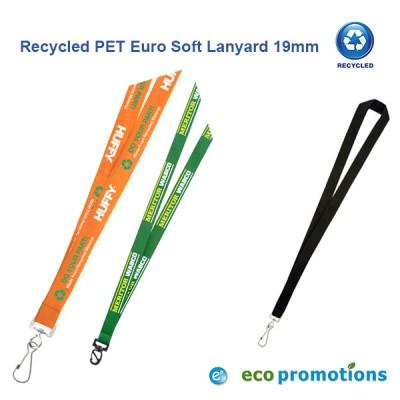 Recycled PET Euro Soft Lanyard 19mm