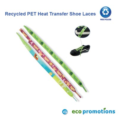 Recycled PET 10mm Heat Transfer Shoe Laces