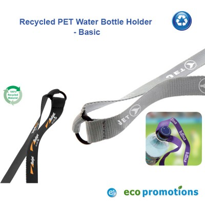 Recycled PET Water Bottle Holder - Basic