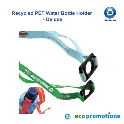 Recycled PET Water Bottle Holder - Deluxe