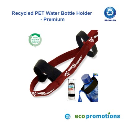 Recycled PET Water Bottle Holder - Premium