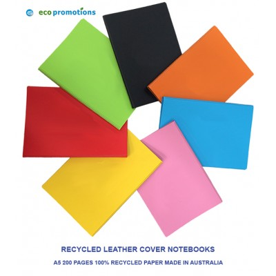 Custom Made Recycled Notebooks