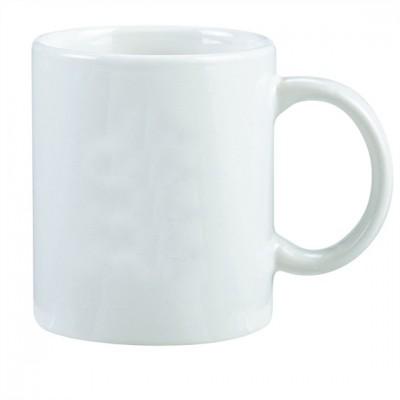 Santorini Ceramic Mug, White