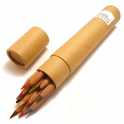 FSC-certified Colour Pencil Tube Set